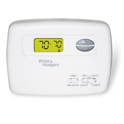 White Rodgers Thermostat Heat Pump ONLY 2H/1C 1F79-111 Non-Programmable