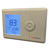 TempĕSure Thermostat 2H/2C WIRELESS Programmable Straight Cool, Heat Pump, Electric Heat, Gas TESPW22 (FL)