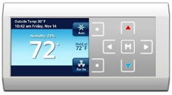 Rheem 'Comfort Control 2' 500 Series Communicating High Definition Thermostat, RHC-TST551CMMS
