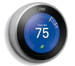 Nest 3rd Generation Learning Thermostat T3007ES, T3008US