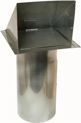 Dryer Vent Exhaust Vent Deflecto Side Wall Mount Only