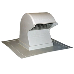 "Dryer, Exhaust Vent Temco, Roof Mount Only 4"" Extra Tall"