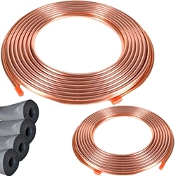 Copper Line Set 25' 7/8 & 3/8