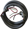 "Mini Split Water Proof Electrical Whip #10 Wire 3 conductor 1/2"" x 6ft"