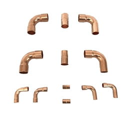 Copper Fittings Kit 3/4 & 3/8