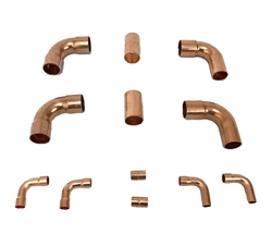 Copper Fittings Kit 7/8 & 3/8