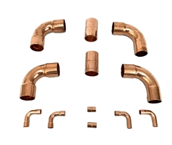 Copper Fittings Kit 1 1/8 & 3/8