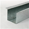 "8' Galvanized Line Cover 4""W x 4""D"