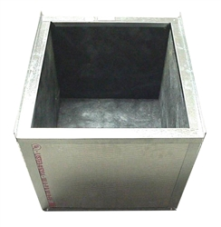 "Air Handler Stand, Boxed In, Ready For Ducted Return, Small 15 1/2""W x 22""D x 20""H"