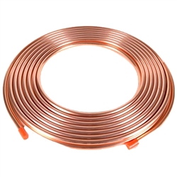 Copper Line 25 feet  1 1/8