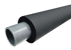 1 1/8 x 1/4 Rubatex Insulation Tubing 6' Length PVC Drain Line