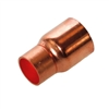 "Copper Fitting Reducer Coupling 1 1/8"" O.D. to 7/8"" O.D."