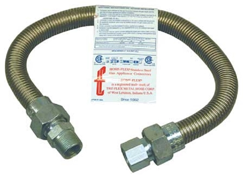 Indoor Flexible Natural Gas Pipe
