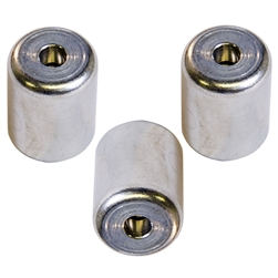 "C&D Valve 410A Heat Pump Supco 1/4"" Locking Caps 3 Pack, CD2290-3"