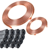 Copper Line Set 100' 3/4 & 3/8