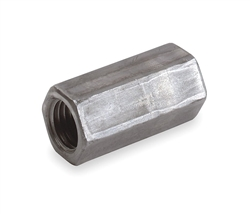 "All Thread 3/8"" Coupling Connector Electro-Galvanized Steel"