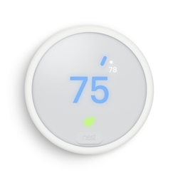 Nest E Thermostat Geo-Fencing Technology 2H/2C T4001ES, T4000ES