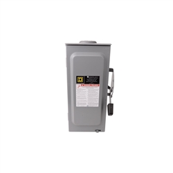 Square D 3-Phase Disconnect - 60A Fusible, Ulf Listed 750-60F-3PH