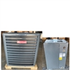 3.5 Ton Goodman Central Air GSX160421 Condenser (6025), CAPF4860C6 Vertical Cased Coil (0654), TX Valve (T)