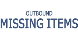 Outbound Missing Items Replacement