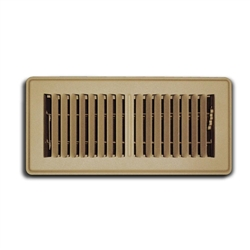 "Floor Supply Grill 4"" x 8"""