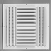 "Ceiling Supply Grill 14"" x 14"" Four Way"