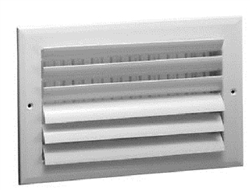 "Ceiling Supply Grill 12"" x 8"" Two Way"