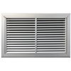 Wall Hung Bard 121, 1.0 Ton Return Filter Grill 17x10, RFG1