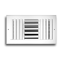 "Ceiling Supply Grill 10"" x 10"" Three Way"