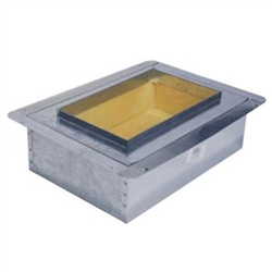 "Supply Boot Metal 10"" x 6"" R6"