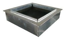 "Return Air Box, Register Boot 12"" x 12"" R6"
