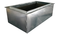 "Return Air Box, Register Boot 24"" x 12"" R6"