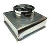 "Supply Boot Metal 10"" x 10"" R6, 7"" Collar"