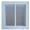 "Return Air Filter Grill 12"" x 12"" White"