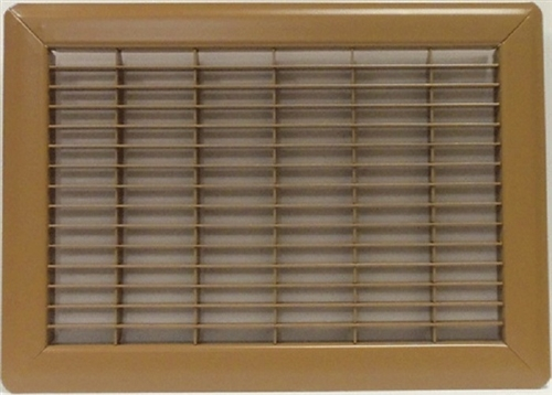 Mobile Home Or Floor Return Air Grill Only 14 Quot X 20 Quot Brown