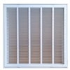 "Return Air Filter Grill 24"" x 24"" White"