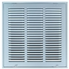 "Return Air Filter Grill 18"" X 18"" White"