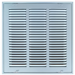 "Return Air Filter Grill 14"" x 14"" White"