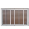"Return Air Filter Grill 24"" x 20"" White"