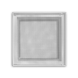 "Return Air Perforated Ceiling T-bar Lay In Filter Back Grill With Duct Board Back 24"" x 24"", 4030FG"