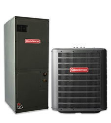 2.5 Ton Goodman 14.5 SEER Central System GSX140301, AVPTC36C14 (1153) Variable Speed (TX)