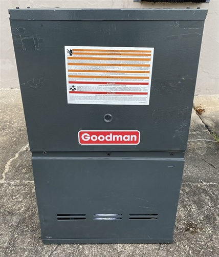 Goodman GDS81005CXAA Gas Furnace 80/% Afue 100K BTU Dedicated 5.0 Ton