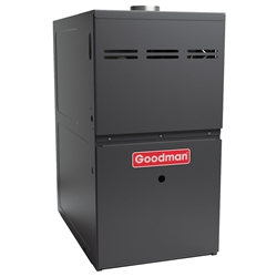 Goodman 80% Two Stage 80K BTU Gas Furnace, GMH80805CN