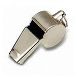 Nickel Plated Whistle
