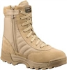 "Original S.W.A.T. Classic 9"" Side-Zip Tan Military Boot - 115202"