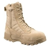 "Original S.W.A.T. Classic 9"" Safety Tan Military Boot - 1194"