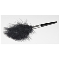Black Marabou Feather Duster