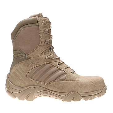 b3c11e2e3e3 Bates Men's GX-8 Desert Side-Zip Boot w/ Composite Toe - Model 2276