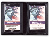 "Perfect Fit Double ID Case - 2-3/4"" x 4-1/4"""