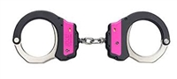ASP Ultra Hinged Identifier Handcuffs - Pink